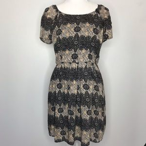 Free People Mini Dress Open Back
